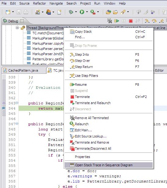 Sequence diagrams architexa ease in debugging ccuart Gallery
